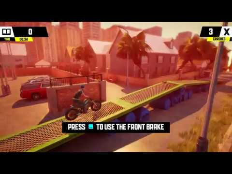 Urban Trial Playground PC HD Gameplay Playthrough EP1: Tutorials, 8 Levels and Bike Upgrade  