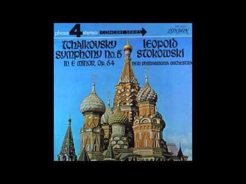 Tchaikovsky Symphony No  5 In E Minor, Op  64 ,Leopold Stokowski,, 3,4mov