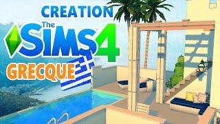 Déco & Co SIMS4 - Maison grecque.