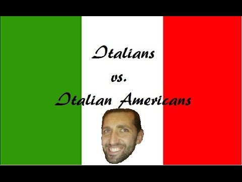 Italians vs Italian Americans (NSFW language)