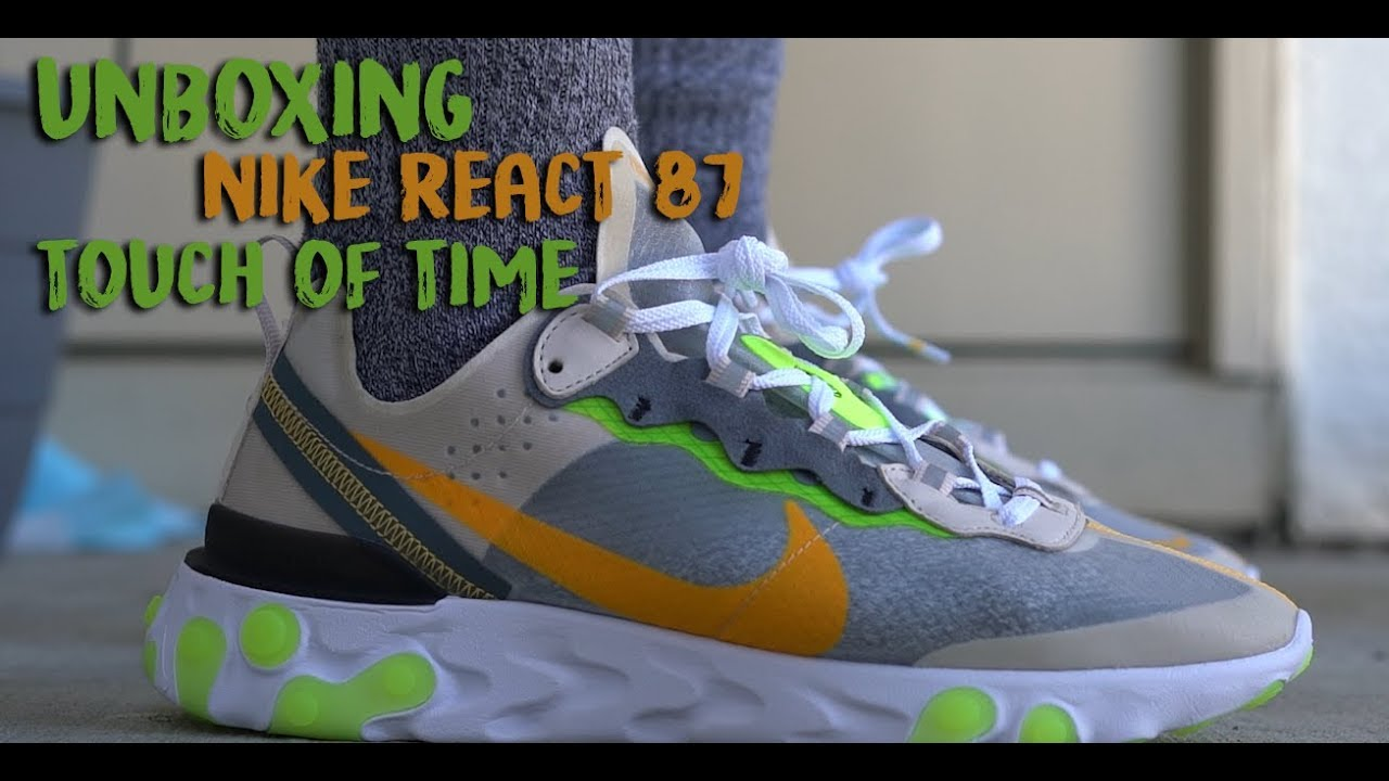 Nike React Element 87 Touch of Lime on