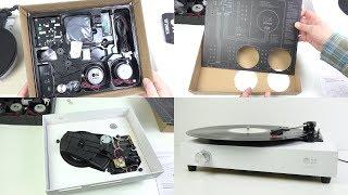 Assembling & Testing a Spinbox - The DIY Cardboard Box Record Player
