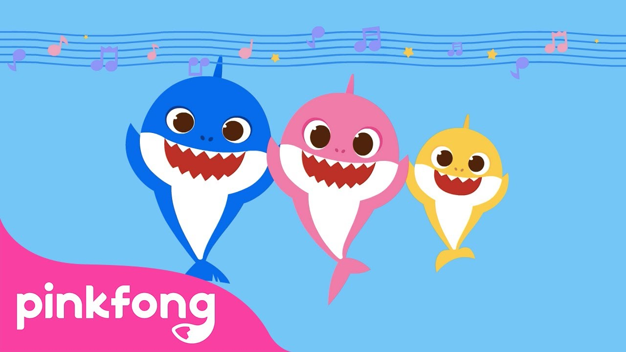 Acapella Sharks | Baby Shark Acapella version | Baby Shark Special | Pinkfong Songs for Children