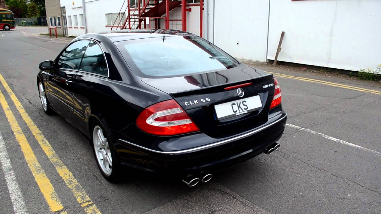 amg w209 clk55 coupe cks quad tailpipe sport exhaust ecu. Black Bedroom Furniture Sets. Home Design Ideas