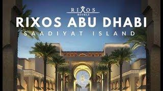 *Крутой отель. Работа в кайф.* Пол года работы аниматором в Rixos Saadiyat Island.
