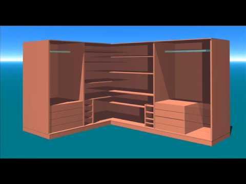 Armario quarto youtube - Como hacer puertas de armario ...