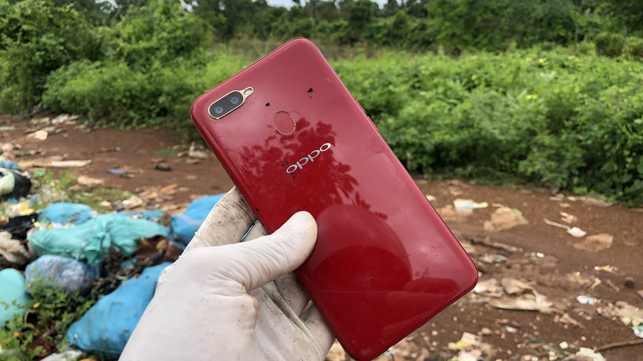 Restoring oppo abandoned destroyed phone | Found a lot of broken phones for restore