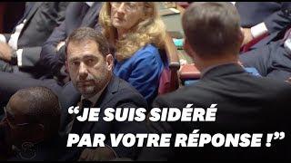 Christophe Castaner bizuté pour sa première au Sénat