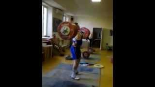 Аккаев толчок 245 кг