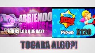 ABRIENDO COFRES Y CAJAS DE BRAWL STARS Y CLASH ROYALE!!- THELUXIO