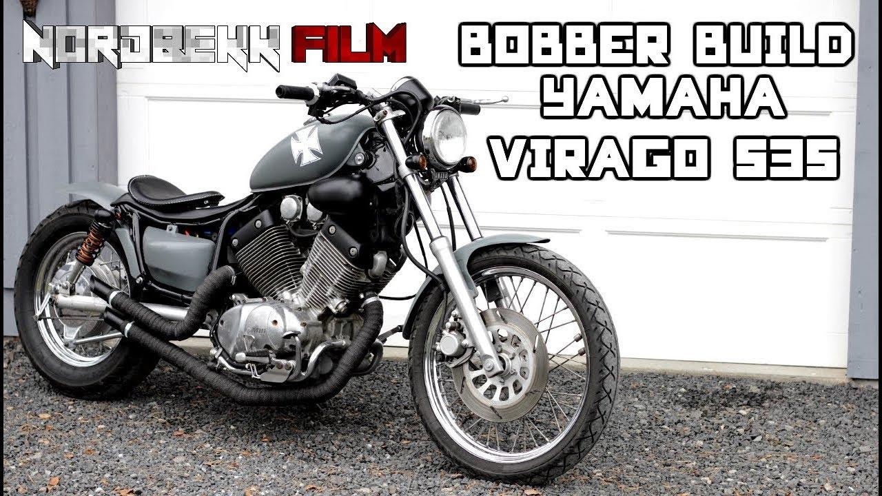 Bobber Build Yamaha Virago 535 Bobber Project Hd Youtube