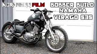 BOBBER BUILD - Yamaha Virago 535 bobber project [HD]