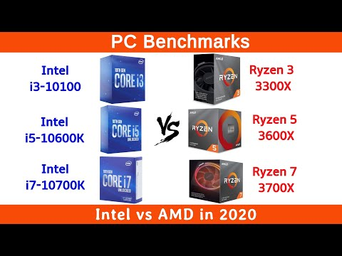 Amd Vs Intel In 2020 Youtube