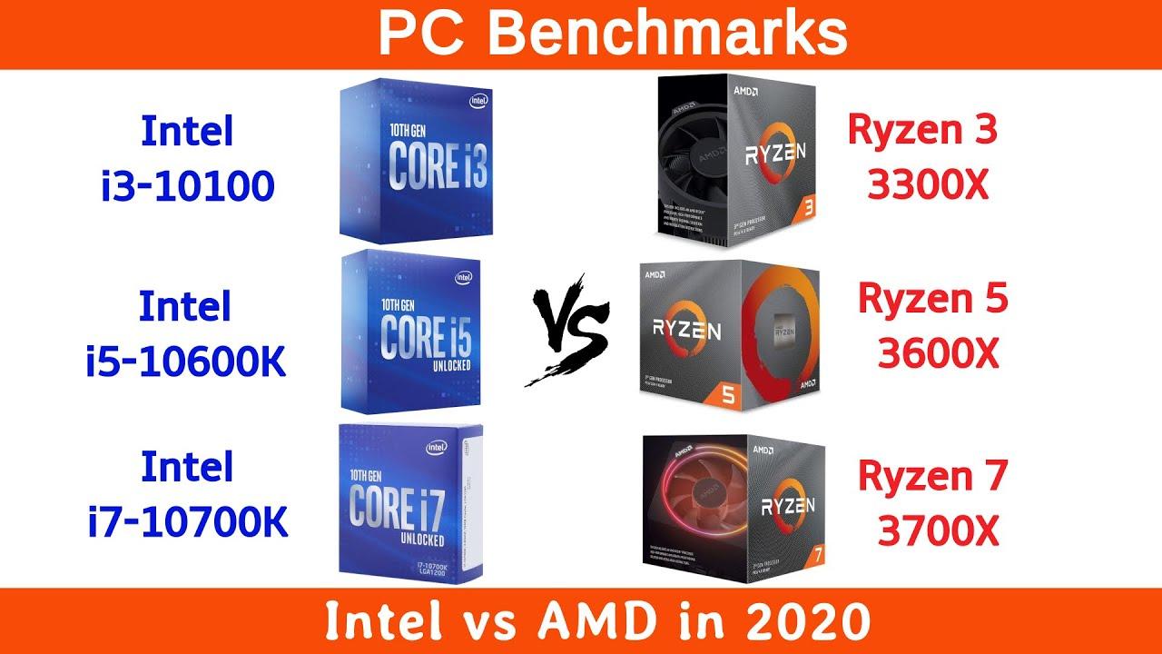 Amd Vs Intel In 2020 Youtube