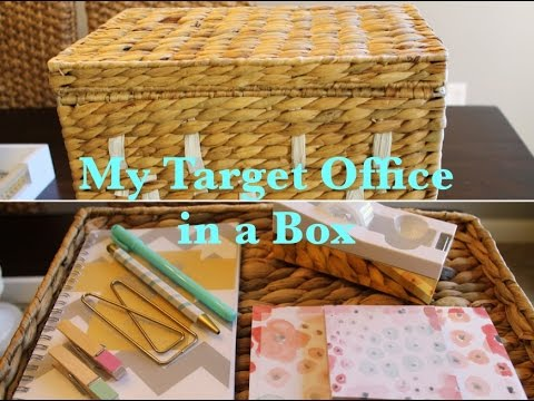 My Target Office In A Box