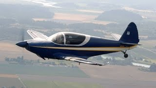 Flying a 210hp Globe Swift to Jefferson County Airport