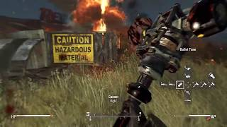 Fallout 4: Energy Weapon and Melee Run With Mods