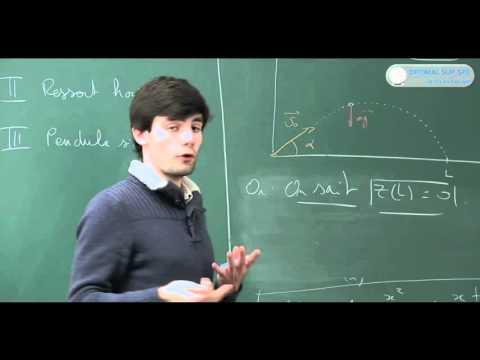 Méthodes pour résoudre un problème de Dynamique. Cours math sup