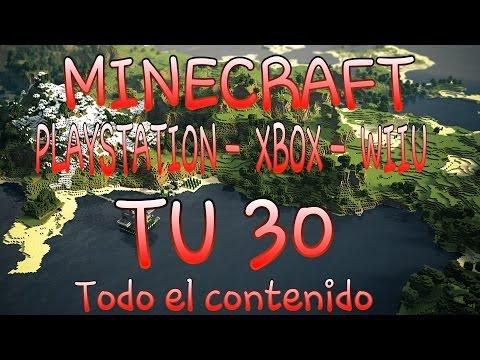 Minecraft TU30 Notas de la actualización / Ps4,ps3,psvita,xbox360,xbox1,wiiU