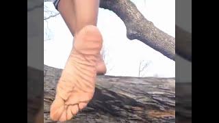 wrinkled ebony soles