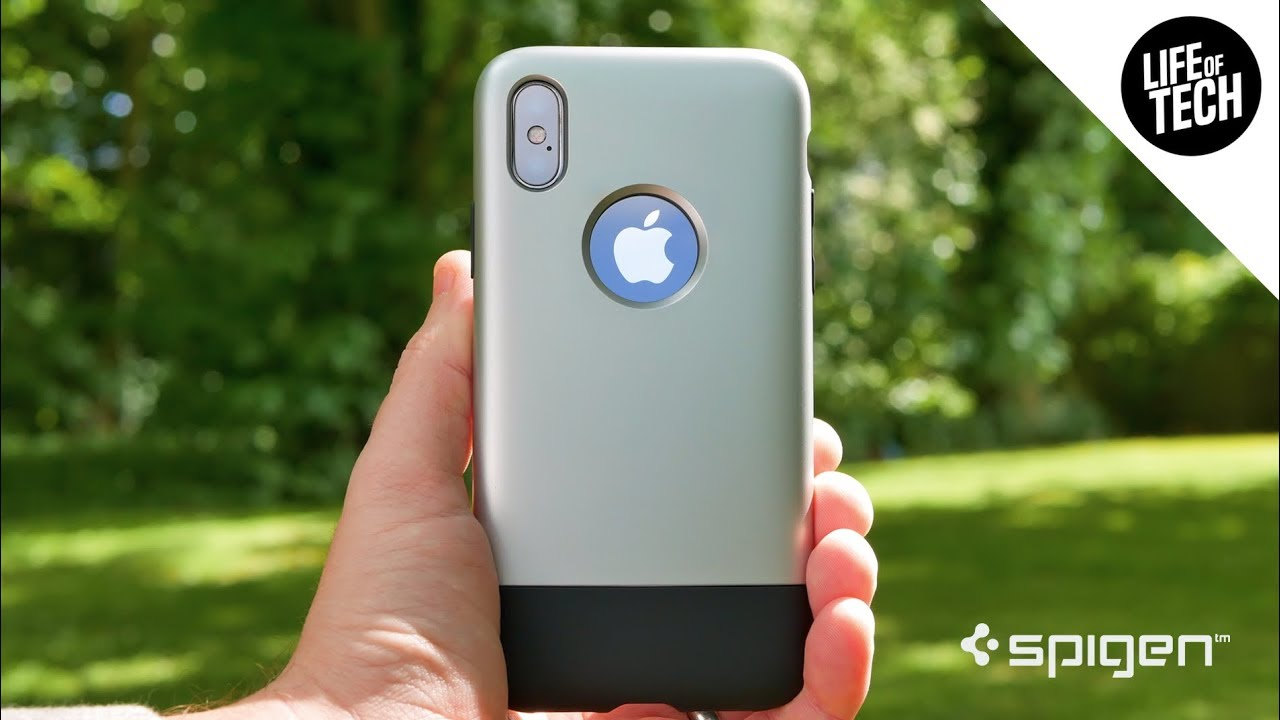 pretty nice 83aa6 c1a17 Spigen Classic One Case for iPhone X Review   Limited Edition (Indiegogo  Case)