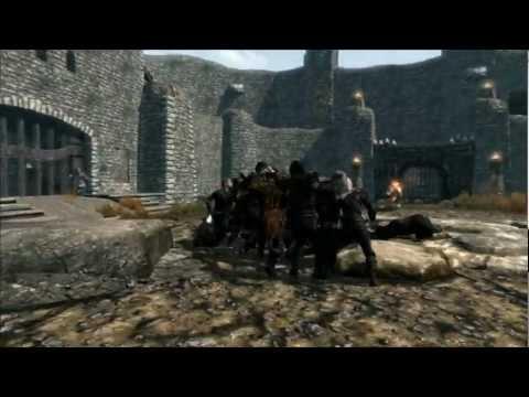 Skyrim GUILD WAR!  Thieves Guild vs. Dark Brotherhood vs. Companions vs. College of Winterhold