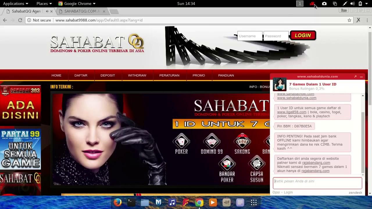 Sahabatqq Com Agen Domino Qq Agen Domino 99 Dan Poker Online Aman Dan Terpercaya Youtube