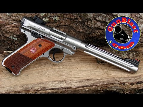 Shooting Ruger's New Mark IV Semi-Automatic 22 LR Pistol - Gunblast.com