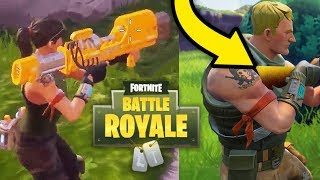 Top 5 NEW Fortnite Battle Royale WEAPONS COMING SOON Possibly (New Rocket Launcher & More)