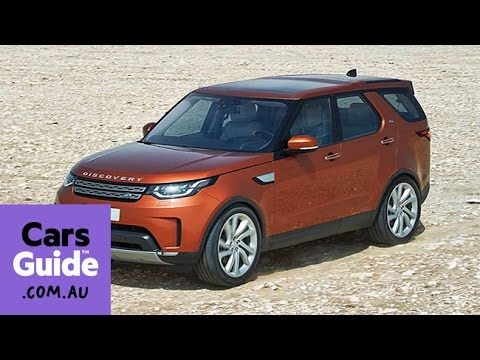 2017 Land Rover Discovery revealed | video