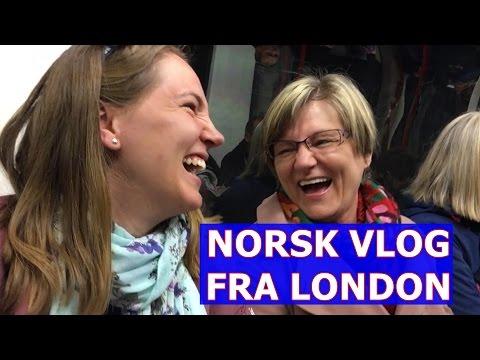 Norsk Vlog fra LONDON (With subtitles)