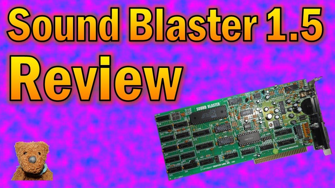Sound Blaster 1 5 Review
