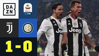 Mario Mandzukic ist Juves Matchwinner: Juventus - Inter Mailand 1:0 | Highlights | Serie A | DAZN