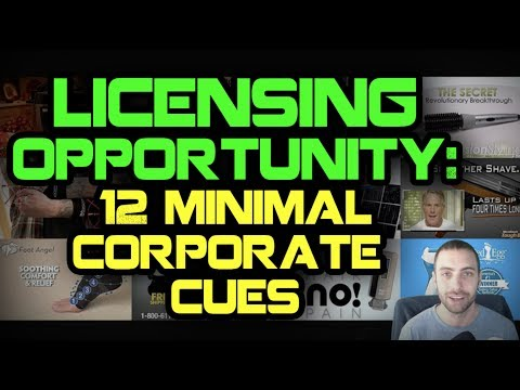 Licensing Opportunity : 12 Minimal Corporate Cues