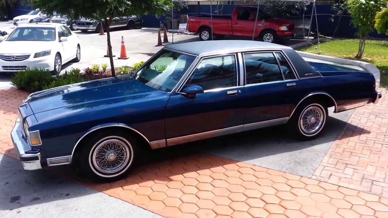 coupon codes outlet differently 1989 Chevrolet Caprice Brougham @ Karconnectioninc.com Miami, Fl