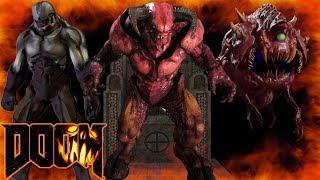 DOOM SNAPMAP 229: VIRTUAL GAMES ARC - Downawfall