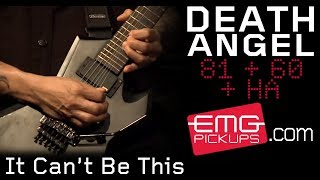 "Death Angel plays ""It Can't Be This"" live on EMGtv"