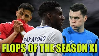 Premier League Flops Of The Season XI