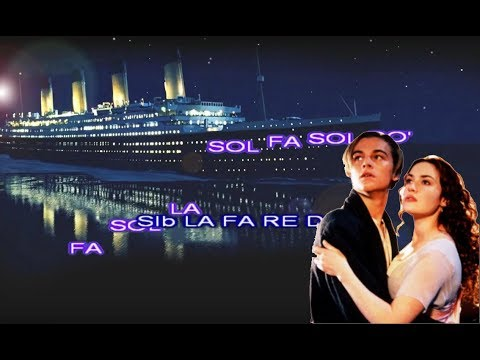 Titanic notas para flauta , note per flauto dolce , recorder song .