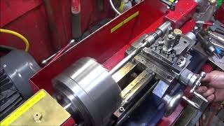 Using An Old Cold Chisel To Make A Drift Tool On The Mini Lathe