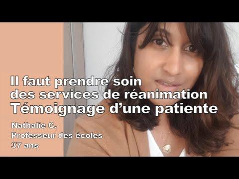 Témoignage d'une patiente: « Il faut prendre soin des services de réanimation »
