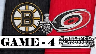 Boston Bruins Vs Carolina Hurricanes  Eastern Conference Final  Game 4  Stanley Cup 2019  Обзор
