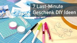 7 Last-Minute DIY Geschenk Ideen