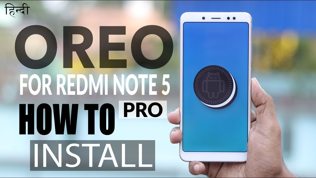 How to Install Official Oreo in Redmi Note 5 Pro | MIUI Update 9 8 4 2  (Android 8 1)