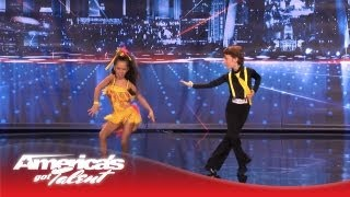 Yasha & Daniela - Amazing Kid Dancers Dance to Pitbull and Tina Turner - America