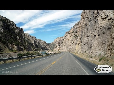 Van Life - Wyoming Scenic Drive: Wind River Canyon - Shoshoni to Thermopolis, WY