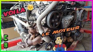 🔧 Projet C8 🔧   voila le moteur    👍  Ep # 4