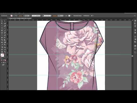 Illustrator: Add folds and shadow to a garment | Design eLearning Tutorials