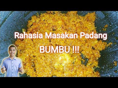 Bumbu Dasar Masakan Padang Youtube