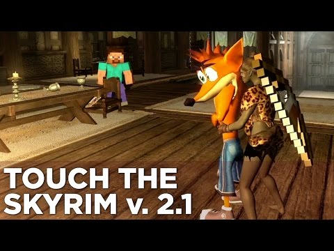 Touch the Skyrim Ep. 6: Nick and Griffin KISS CRASH BANDICOOT (NSFW)
